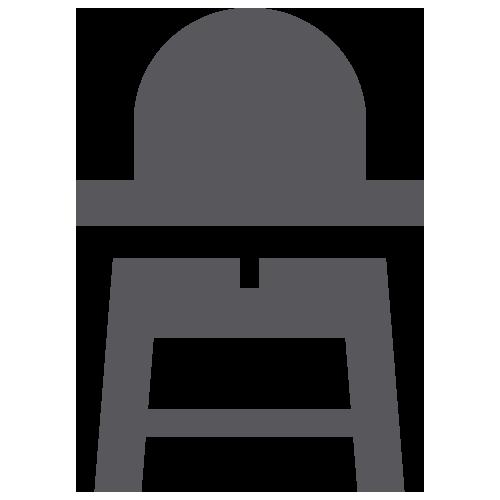 Cot & High Chair